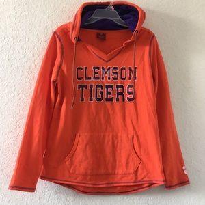 Men CLEMSON TIGERS College Hoodie Size M